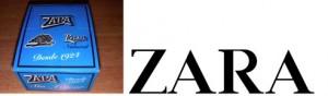 zara nombre de marca letras