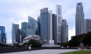 imagen de rascacielos en una ciudad