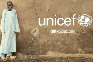 """Imagen de la campaña de Unicef """"Cumpledías"""""""