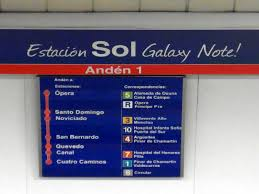 "La estación del metro ""Sol"" tras naming rights."